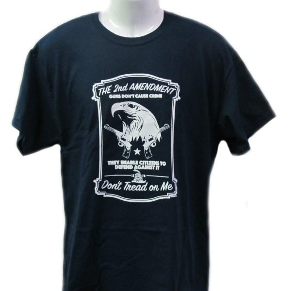 "The 2nd Amendment ""Don't Tread on Me"" T-shirt"