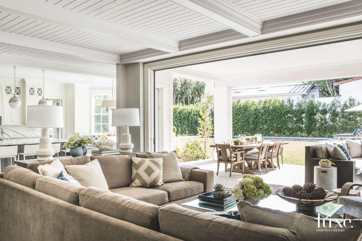 indoor outdoor patio sliding glass wall