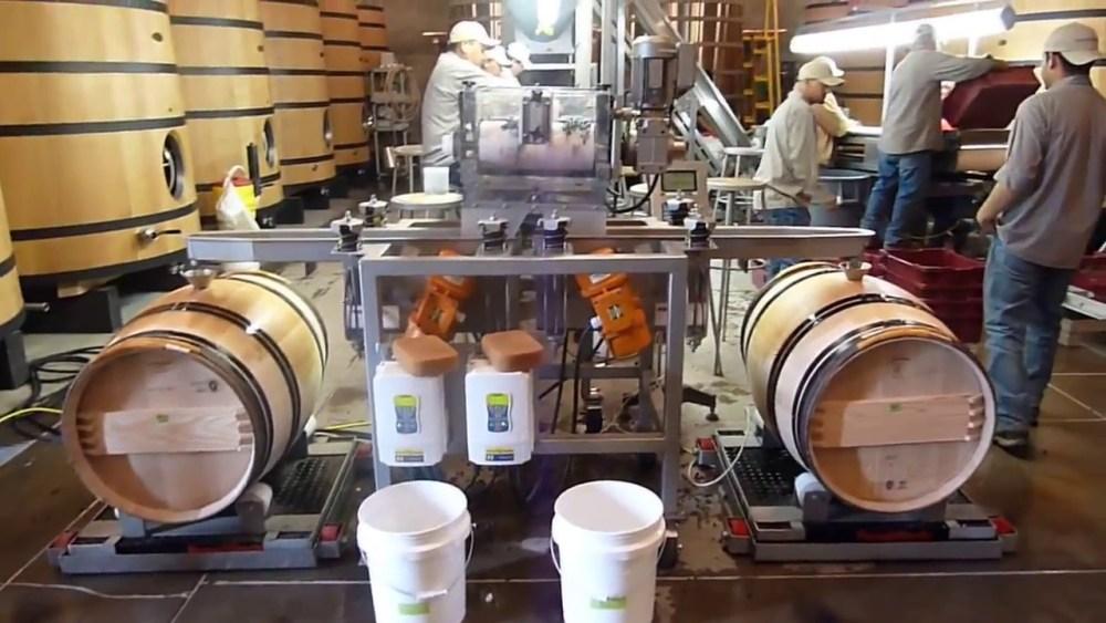quy trình sản xuất rượu