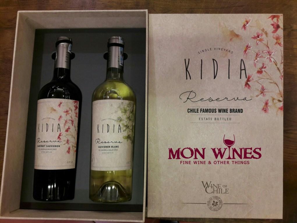 Rượu Vang Chile Kidia Reserva Cabernet Sauvignon mua giá tốt tại Đà Nẵng - Shop rượu 247