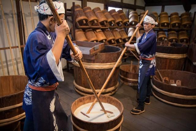 Nấu rượu Sake