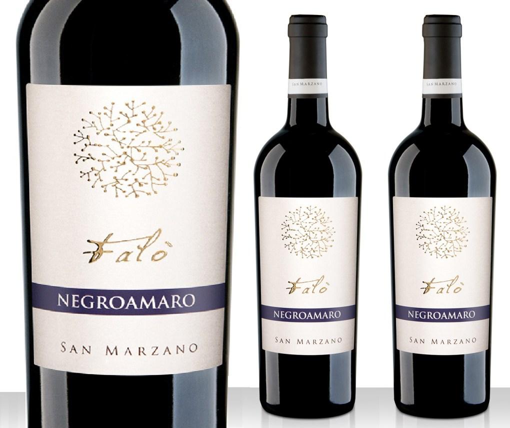 Rượu vang Ý Falo Negroamaro