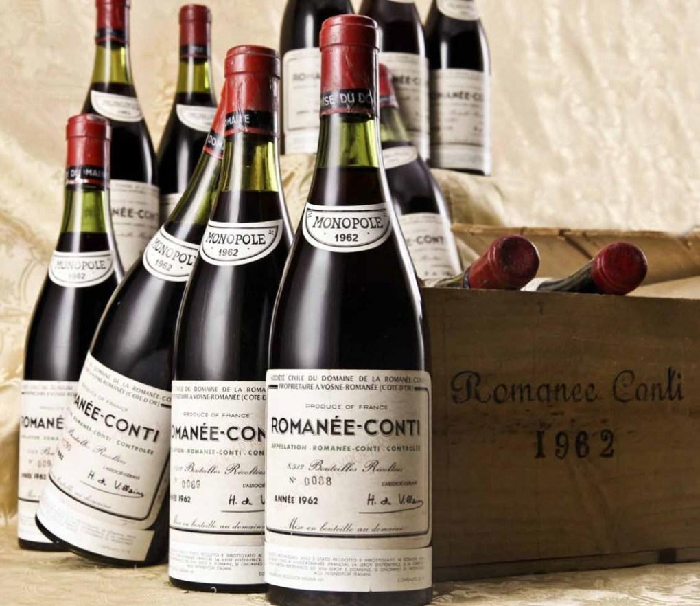rượu vang đắt thứ 8