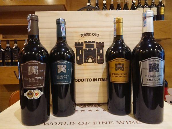Rượu vang Torrid' oro IGT Nero di Troia