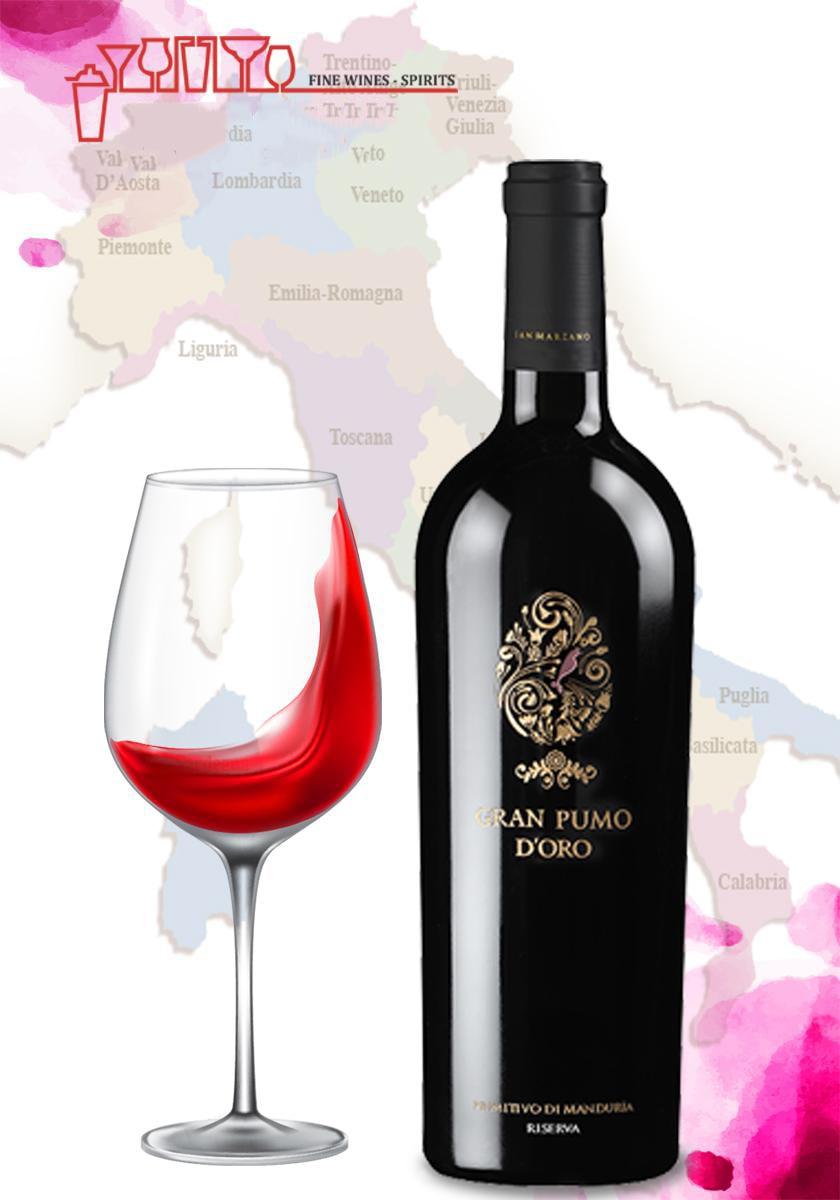 Bán rượu vang Ý Gran pumo tại Bắc ninh giá Tốt