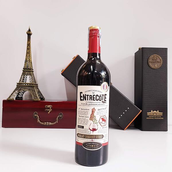 Giá rượu vang pháp entrecote tại Hải Phòng tốt nhất