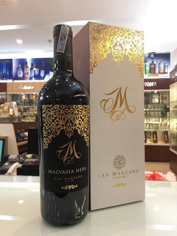 Nhập khẩu rượu vang m malvasia nera tại Hạ Long giá tốt nhất
