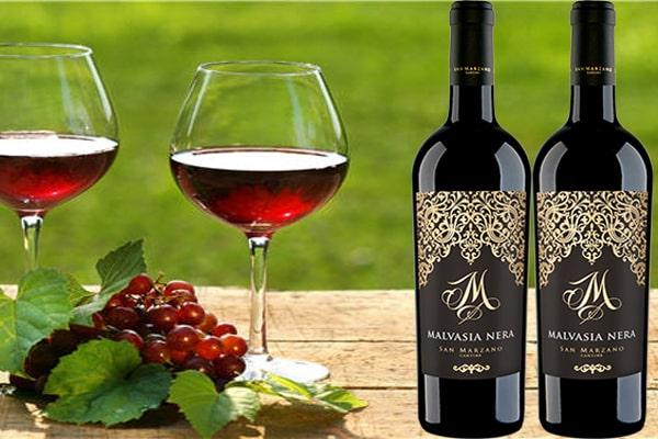 Nhập khẩu rượu vang m malvasia nera tại Phú Quốc giá tốt nhất