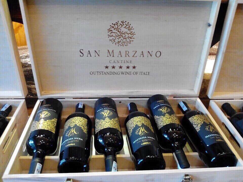 Nhập khẩu rượu vang m malvasia nera tại Hồ Chí Minh giá tốt nhất