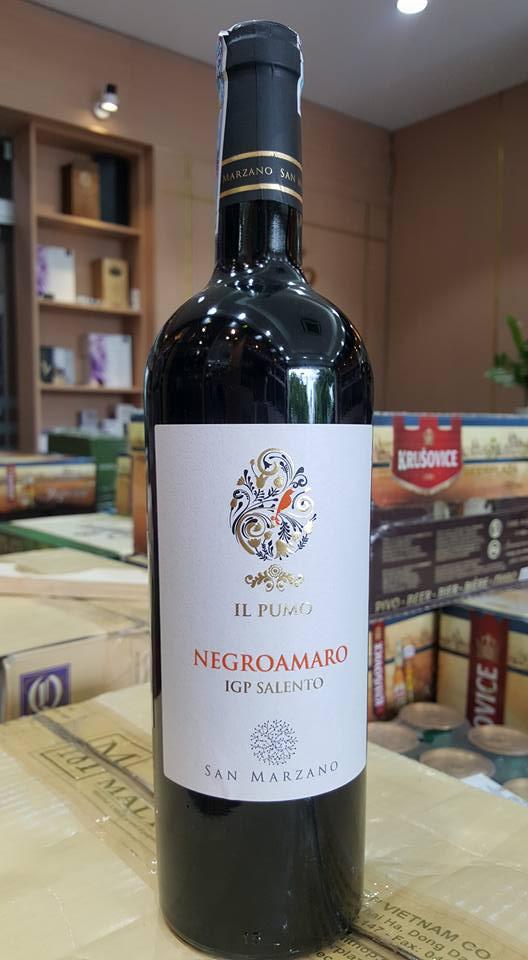 Bán rượu vang ý IL Pumo Negroamaro tại Vĩnh Phúc giá tốt nhất