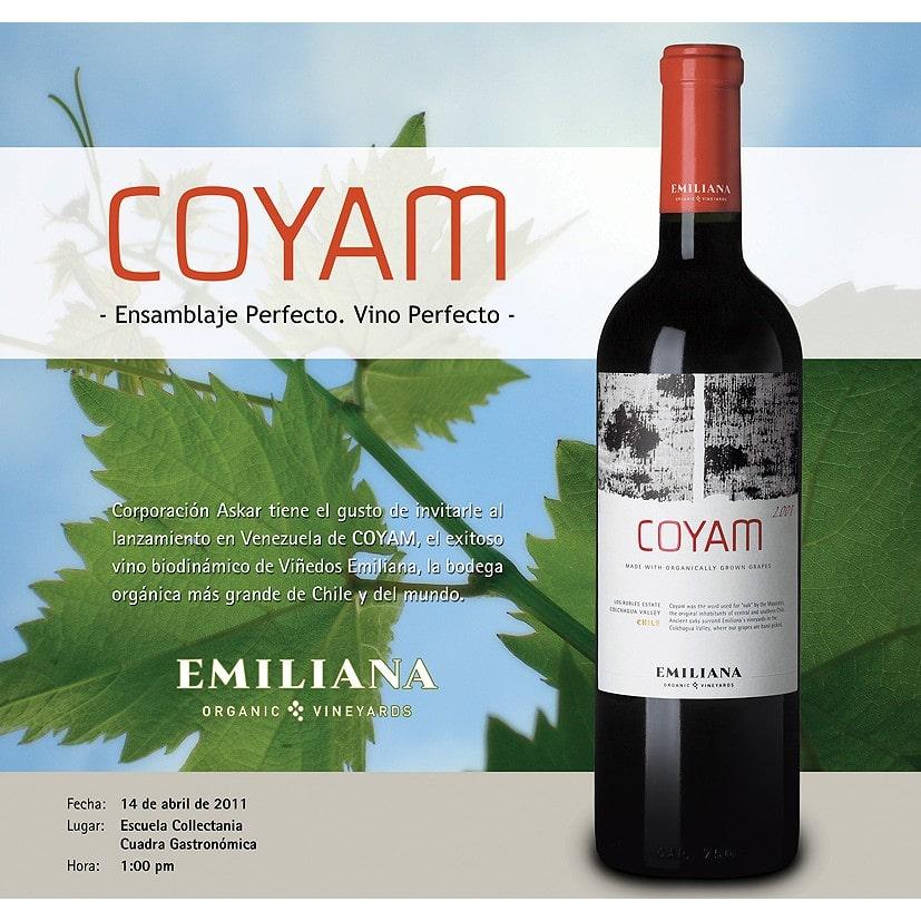 Phân phối rượu vang Chile Emiliana Coyam tại Kiên Giang giá tốt nhất