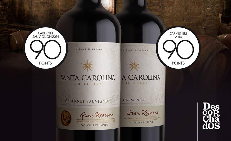 Bán rượu vang Santa Carolina Reserva Cabernet Sauvignon tại Hải Phòng giá tốt