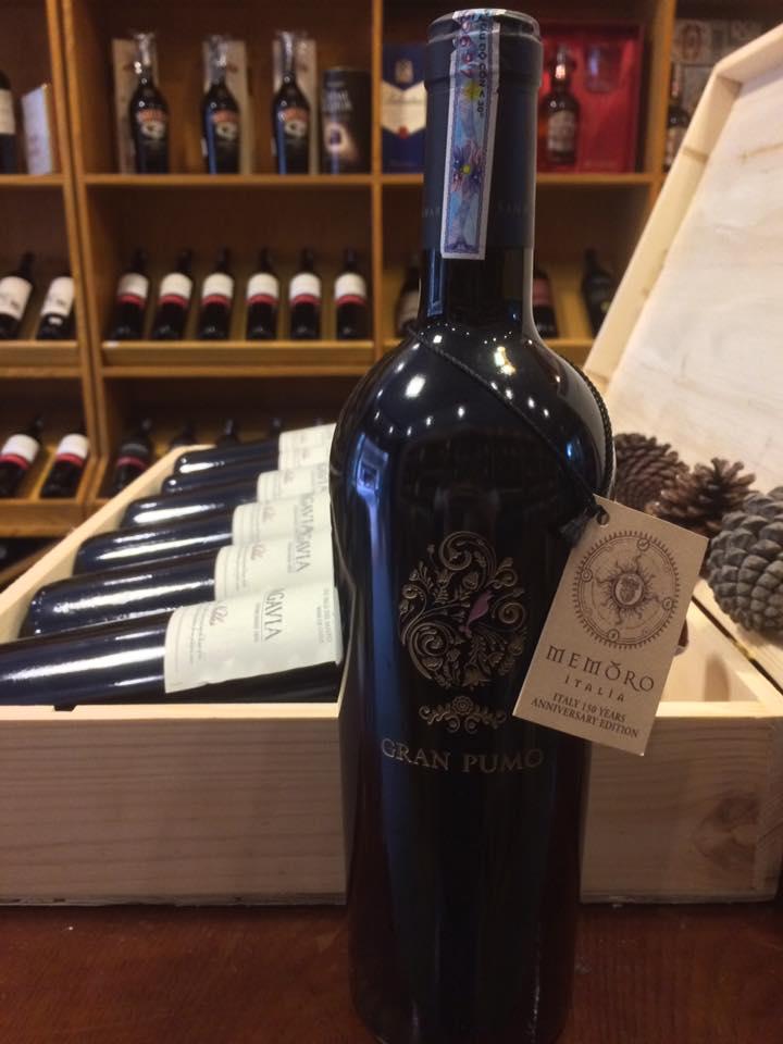 Rượu vang Gran Pumo Salento tại Bình Dương giá nhập khẩu
