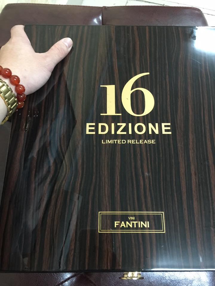 Nhập khẩu rượu vang Ý 16 Edizione Limited Release tại Vĩnh Phúc giá tốt nhất