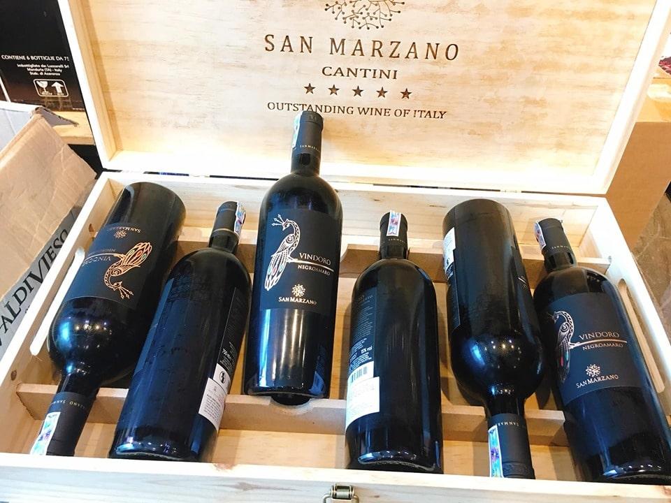 Rượu Vang Ý Vindoro tại Long An giá tốt - Shop rượu 247