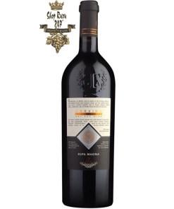Rượu Vang Đỏ Ripa Magna Corvina Verona có mầu đỏ dữ dội. Hương thơm phong phú và đặc trưng của các loại gia vị và trái cây chín đỏ. Hương vị đầy đủ mượt mà thơm ngon của trái cây chín.