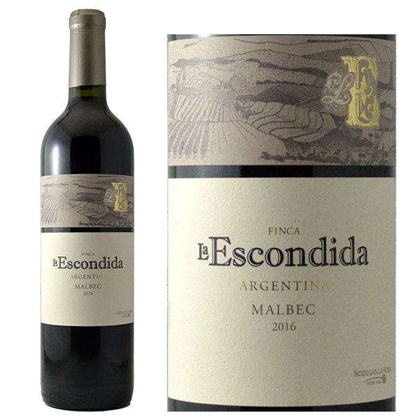 Vang Đỏ Argentina Finca La Escondida Malbec có màu đỏ đậm đặc trưng, cùng với nó là hương vị của trái cây chín mọng
