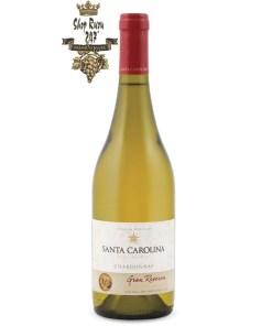 Vang Chile Trắng SANTA CAROLINA Gran Reserva Chardonnaylà loại rượu vang phổ thông đang rất được ưa chuộng hiện nay