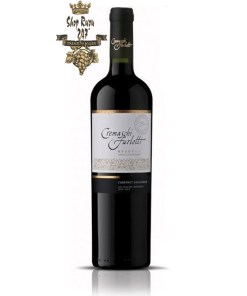 Rượu Vang Chile Cremaschi Furlotti Reserva Cabernet Sauvignon có mầu đỏ hồng ngọc mãnh liệt. Hương thơm của hương đen