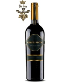 Rượu Vang Chile Đỏ Obsession Cabernet Sauvignon có mầu đỏ tươi sáng. Hương thơm của trái cây cùng hương của hoa quả