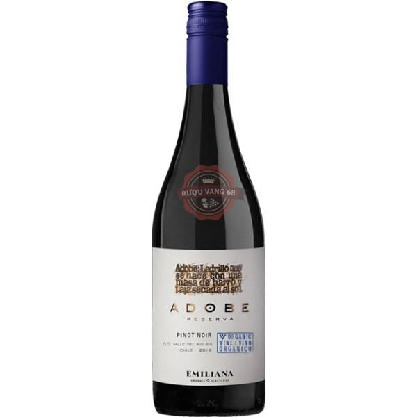 Rượu Vang Chile Emiliana Adobe Pinot Noir