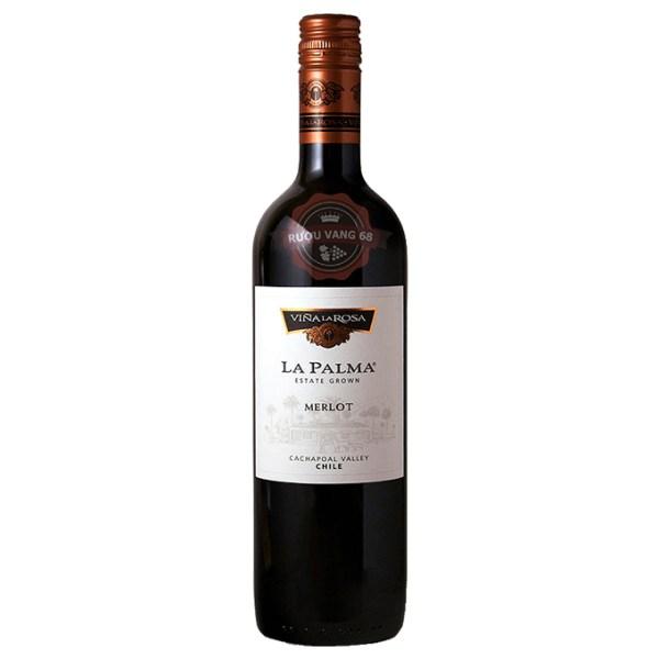 Rượu Vang Chile La Palma Merlot