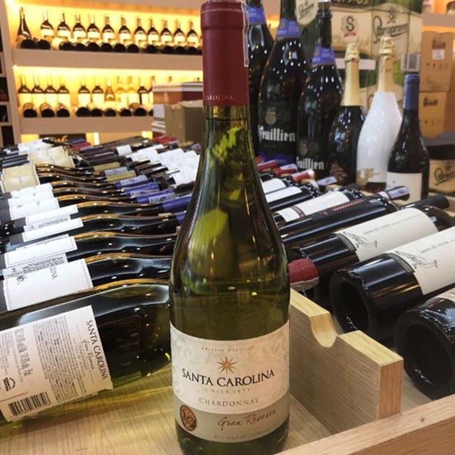 Rượu Vang Chile SANTA CAROLINA Gran Reserva Chardonnay