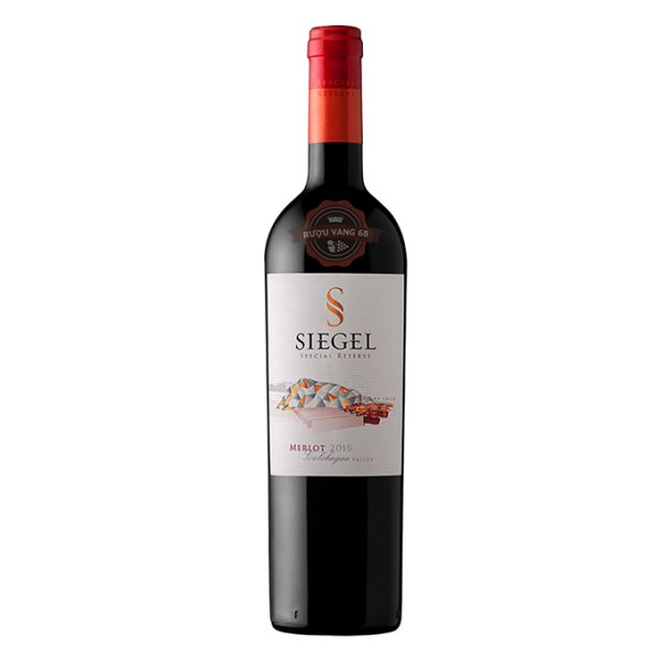 Rượu Vang Chile Siegel Special Reserve Merlot