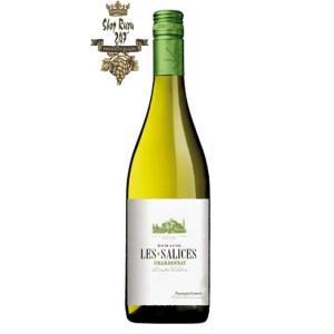 Les Salices Sauvignon Blanc có mầu vàng chanh đẹp mắt. Hương thơm của nho, gỗ hoàng dương, cam quýt cùng gợi ý của trái cây nhiệt đới