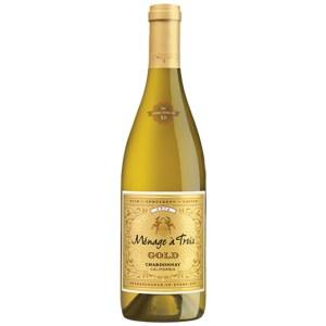 Rượu Vang Mỹ Menage a Trois Gold Chardonnay