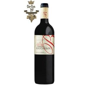 Rượu Vang Pháp Đỏ Bordeaux de Maucaillou Bordeaux Superieur là tài sản của gia đình Dourthe từ năm 1929 là một tài liệu tham khảo ở Moulis