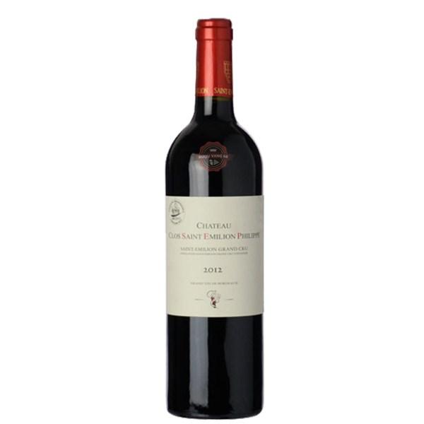 Rượu Vang Pháp Château Clos Saint Emilion Philippe Saint Emilion Grand Cru