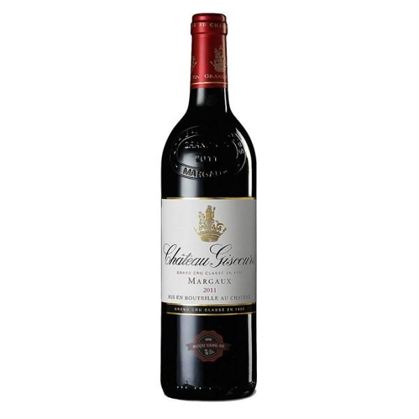 Rượu Vang Pháp Chateau Giscours Margaux Grand Cru Classe 2011