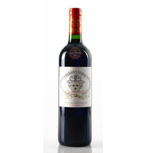 Rượu Vang Pháp Chateau Gressier Grand Poujeaux Cru Bourgeois