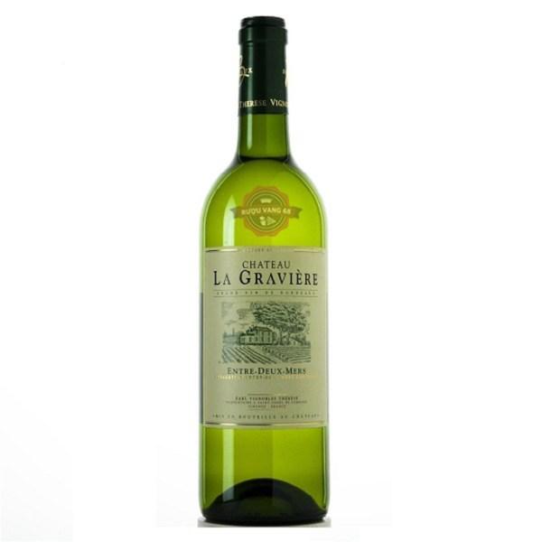 Rượu vang Pháp Château La Graviere Entre Deux Mers
