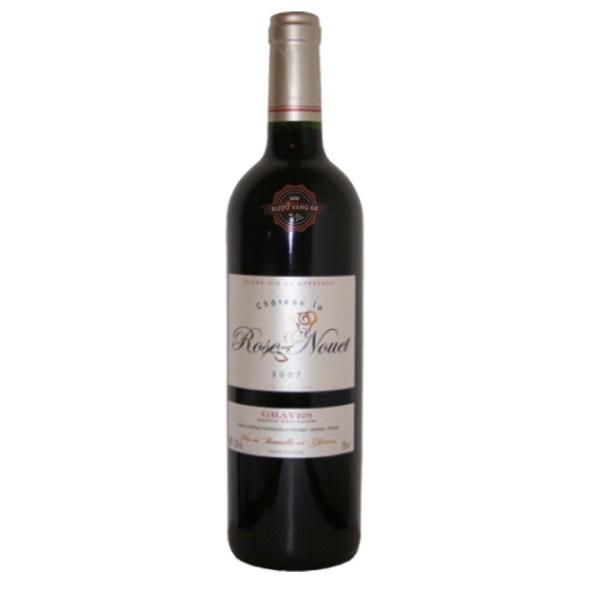 Rượu Vang Pháp Chateau La Rose Nouet Graves