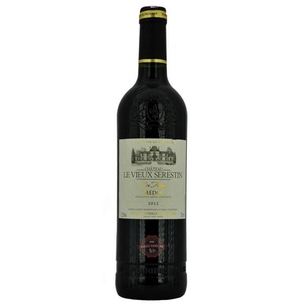 Rượu Vang Pháp Chateau Le Vieux Serestin Medoc Cru Artisan 2012