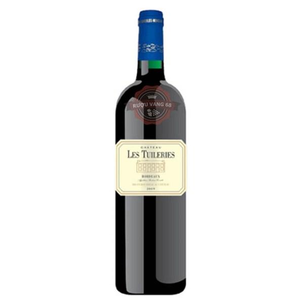 Rượu Vang Pháp Chateau Les Tuileries Aoc Bordeaux Rouge