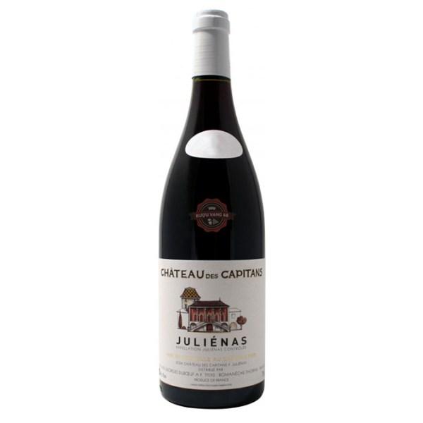Rượu Vang Pháp Georges Duboeuf Chateau des Capitans Julienas