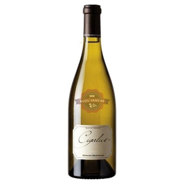 Rượu vang Pháp Gerard Bertrand Cigalus Aude Hauterive IGP