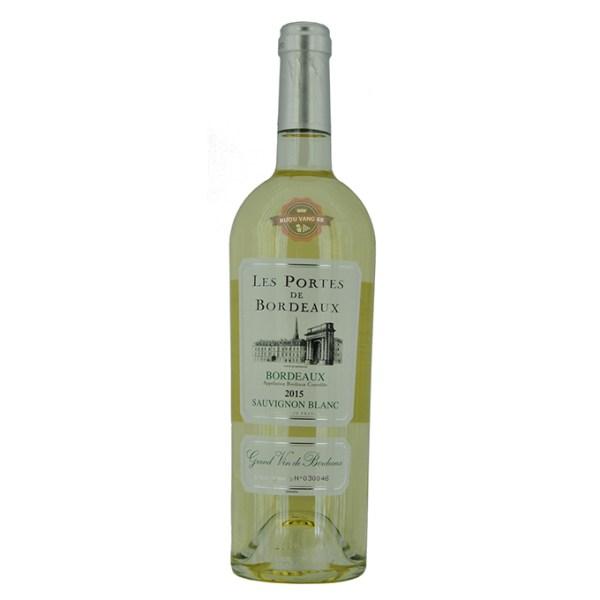 Rượu Vang Pháp Les Portes de Bordeaux Sauvignon Blanc 2015