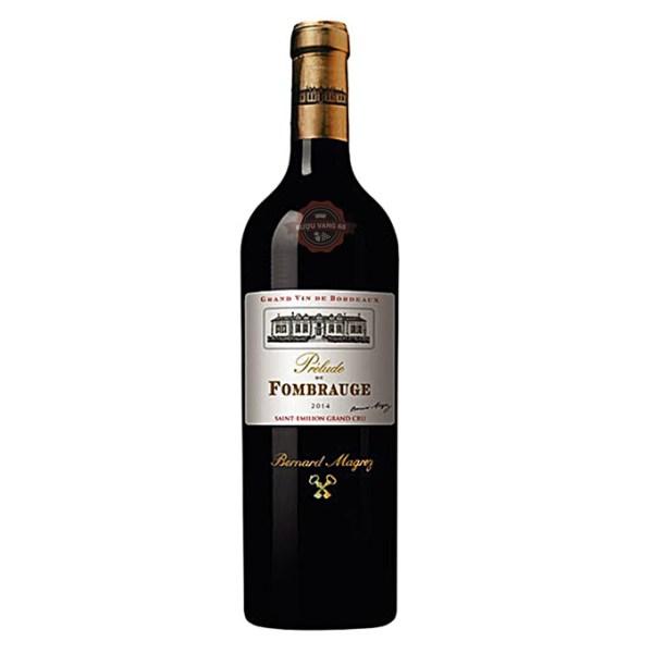 Rượu Vang Pháp Prelude de Fombrauge Grand Cru