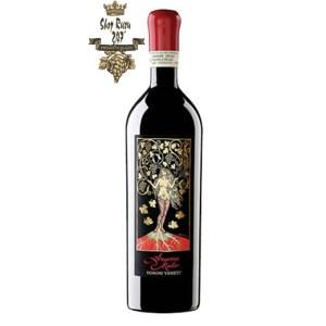 Rượu Vang Đỏ Domini Veneti Mater Có mầu đỏ đậm đẹp mắt,Hương thơm: Phức hợp của gia vị, thanh tao