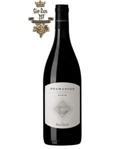 Rượu Vang Đỏ Antinori La Braccesca Bramasole Cortona DOC có màu đỏ ruby mãnh liệt. Hương thơm lan tỏa của quả mọng chín đỏ cùng gợi ý của gia vị và thuốc lá