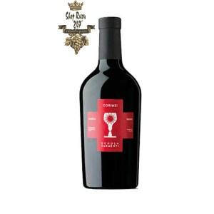 Rượu có mầu đỏ anh đào đậm. Hương vị của quả anh đào với gia vị đa dạng và đa dạng và có một vị ngọt tuyệt vời làm nóng vòm miệng với cảm giác mịn màng .