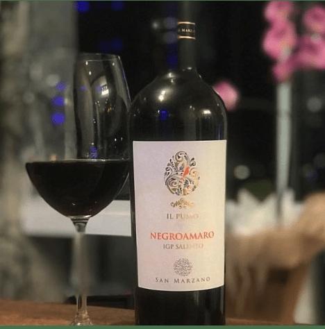 Thưởng Thức Rượu Vang IL Pumo Negroamaro