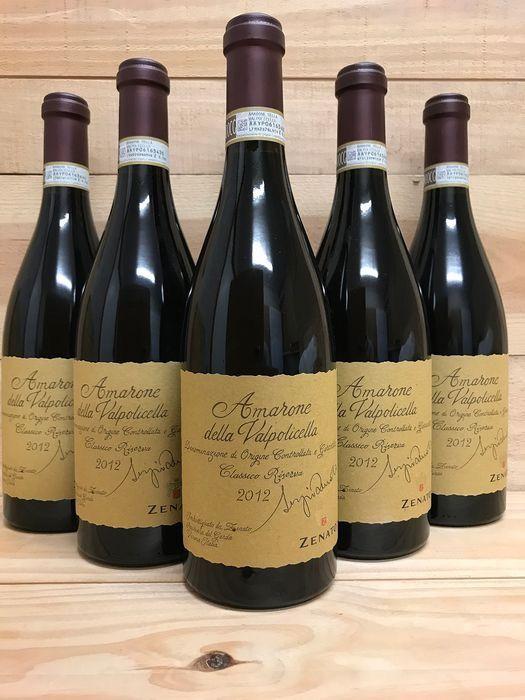 Zenato Amarone Della Valpolicella Sergio Riserva là sản phẩm đặc sắc của hãng sản xuất rượu Zenato