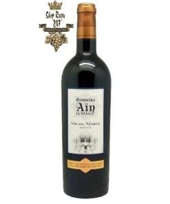 Rượu vang Domaine Ain Lorma Maroc được đưa vào trong khoang miệng thì bạn sẽ cảm nhận được hương thơm phức hợp
