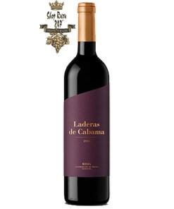 Valenciso Laderas de Cabama có mầu đỏ đẹp mắt. Hương thơm lãng mạn của trái cây rừng cùng hương thơm mộc mạc của hương đất