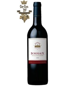 Vang Đỏ Baron Philippe de Rothschild Bordeaux Red có mầu anh đào sâu ánh tím. Hương thơm phong phú, dễ chịu với hương trái cây